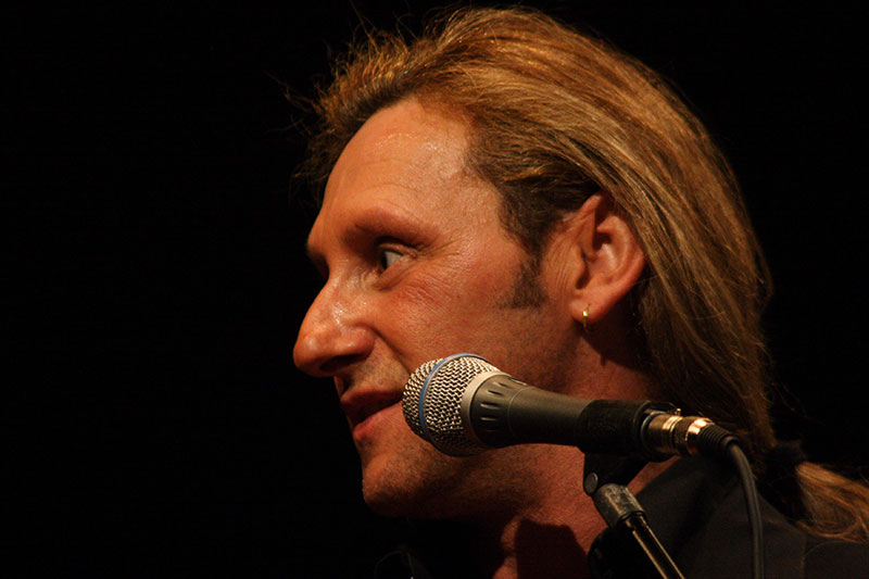 Fabrizio al Festival di Sanremo, a bordo del DDT YACHT